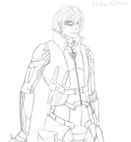 Pulsefire Ezreal WIP (line art) by dreaming-myth