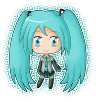 Chibi Miku Blink by izka197
