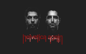 helvetica again   wallpaper 3 by rootout