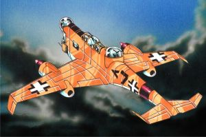 Fictional German Jet Fighter 2 by Frohickey