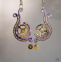 Steampunk earrings 11 by TheCraftsman