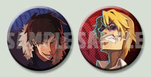 Preview:DRRR Buttons by nargyle