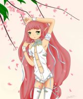 Kaireen the cherry blossom bloom by Chocibunny