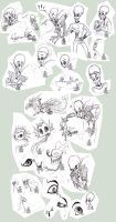Megamind sketches 2 by Japandragon
