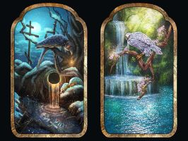 Water Of Life and Water Of Death by LiliaOsipova
