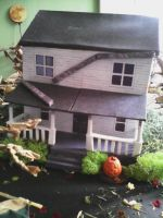 Halloween Village 2014 by Allhallowseve31