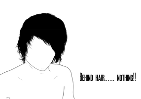 Emo: Behind hair... nothing by iTop-edition