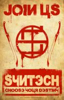 JOIN SYNTECH poster by AndrewKwan
