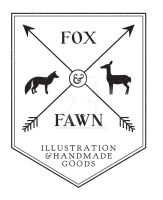 Fox and Fawn Logo by Groovygirlsuzy17
