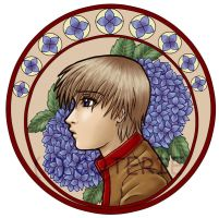Caelen - Mucha style by ENTWINED-PARR
