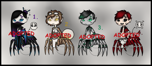 SpiderTaur Adopts (CLOSED) by Adopt-From-Frog