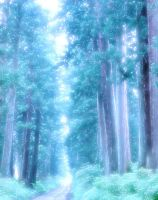 Mystical forest by Blackmoonrose13