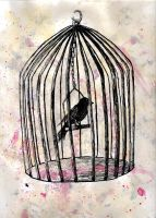 Caged by wannabeartistgirl