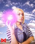 Android 18- Dragon Ball Z by LadyofSparda