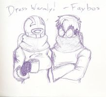 Winter Greetings from Faybos! by Faybos