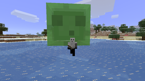 Minecraft - Giant Slime by Ludolik
