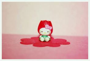 Hello Kitty Flower by bhere