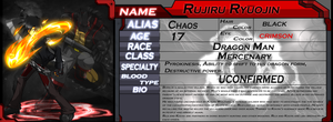 Profile Card - Ruji by WarGreymon43