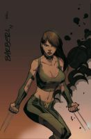 X-23 Chica by Barberi QuickPaint by Ross-A-Campbell
