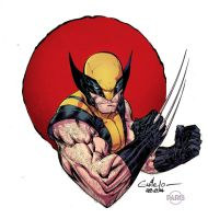 Wolverine - Paris Manga Show - Paris Alleyne color by SpiderGuile