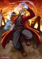 edward elric by dramegar