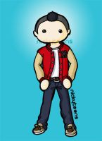 Glee: Noah 'Puck' Puckerman by NickyToons
