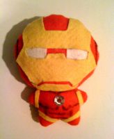 Chibi Iron Man Plushie by Red-Flare