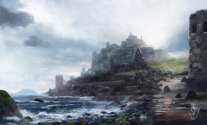 Coastal Fortress by jjpeabody