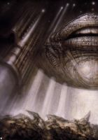 H. R. Giger XI by CamillOnline