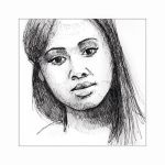 Inktober Day 31 -  Nicole Beharie by disco-mouse