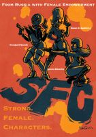 Strong Female Characters by SteveLeCouilliard