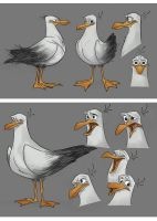 ttnet seagull-early design and facial by ahmettabak