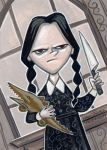 Wednesday Addams by danidraws