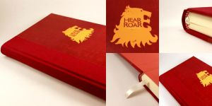 Game of Thrones Journal - Lannister House by GatzBcn
