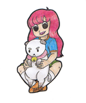 Linds and Puppycat by emo-nerd