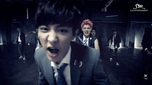 [GIF] Chanyeol's GROWL by imawesomeee03