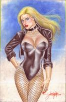 Black Canary (#1) by J.D. Felipe by VMIFerrari