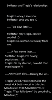 Swiftstar and Tragic's relationship by SwiftstarThornclan