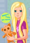 Don't take my toys! by MikaBesfamilnaya