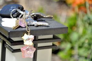 Little Twin Stars Keychain by Love-Who