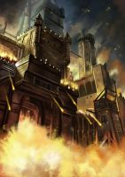 Castle On Fire by HensenFM
