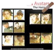 The Heirs (icons) #1 - Size 131 x by victoricaDES