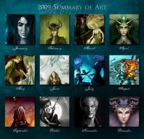 2009 Art Summary Meme by MelissaFindley