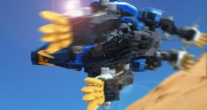 Zoids: Liger leap by BecciES