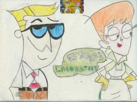 Dexters Parents by angieuly