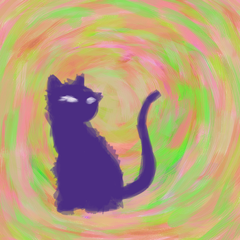 Trippy Tabby by KYMSnowman