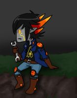 Yusei as a troll by roseannepage
