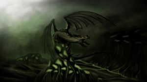The green land of dragon by punieta