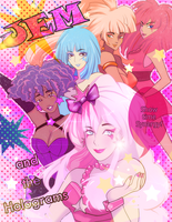 Jem and the Holograms by muffin-mixer