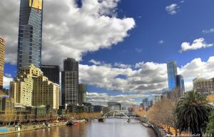 Yarra From Princess Bridge by djzontheball